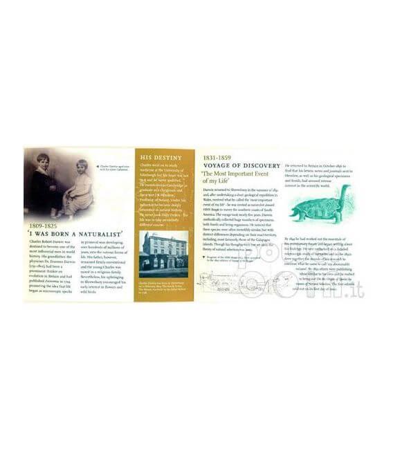DARWIN Charles 200th Anniversary BU Münze Pack £2 UK Royal Mint 2009
