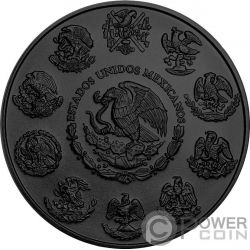 DIA DE LOS MUERTOS Day of the Dead Libertad 1 Oz Серебро Монета Мексика 2017