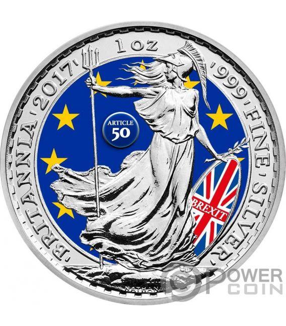 Brexit Münze