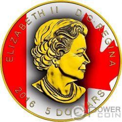 SUPERMAN Ahornblatt 1 Oz Silber Münze 5$ Canada 2016