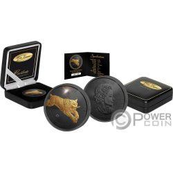 LYNX Golden Enigma 1 Oz Silver Coin 5$ Canada 2017