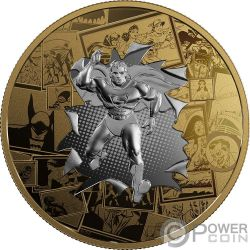 ALL STAR COMICS DC Comics Originals 3 Oz Silver Coin 50$ Canada 2017