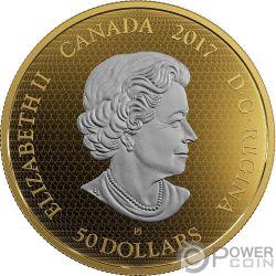 ALL STAR COMICS DC Comics Originals 3 Oz Moneta Argento 50$ Canada 2017