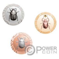 SCARAB SELECTION III Set 3x1 Oz Silber Münzen 5$ Cook Islands 2017