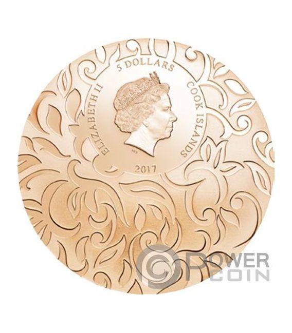 SCARAB SELECTION III Set 3x1 Oz Silver Coins 5$ Cook Islands 2017