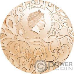 SCARAB SELECTION III Escarabajos Set 3x1 Oz Monedas Plata 5$ Cook Islands 2017