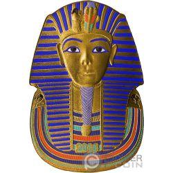 TUTANKHAMUN Tutankhamon Forma 1 Oz Moneta Argento 1000 Franchi Burkina Faso 2016
