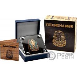TUTANKHAMUN Tutankamon Forma 1 Oz Moneda Plata 1000 Francos Burkina Faso 2016