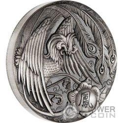 PHOENIX 2 Oz Silver Coin 2$ Tuvalu 2017