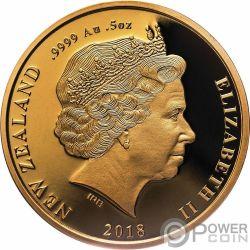 MAUI AND THE SUN Tama Nui Te Ra Set 2 Золото Монеты 10$ Новая Зеландия  2018