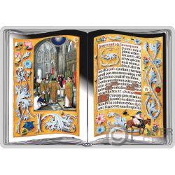 ROTHSCHILD PRAYERBOOK Gebetsbuch Silber Münze 1000 Francs Cameroon 2018
