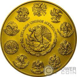 AZTEC CALENDAR Libertad Liberty 1 Oz Серебро Монета Мексика 2017