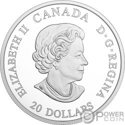 NORTHERN FURY Norden Wut Figureheads 1 Oz Silber Münze 20$ Canada 2018