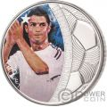 CRISTIANO RONALDO Legends of Sports Sidney Maurer 1 Oz Silver Coin 5$ Solomon Islands 2018