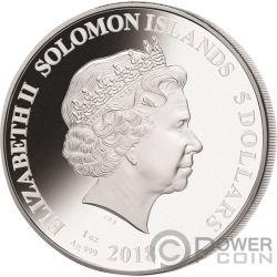 CRISTIANO RONALDO Legends of Sports Sidney Maurer 1 Oz Silver Coin 5$ Solomon Islands 2018