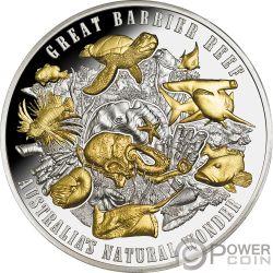 GREAT BARRIER REEF Australias Natural Wonder 5 Oz Silver Coin 10$ Niue 2018