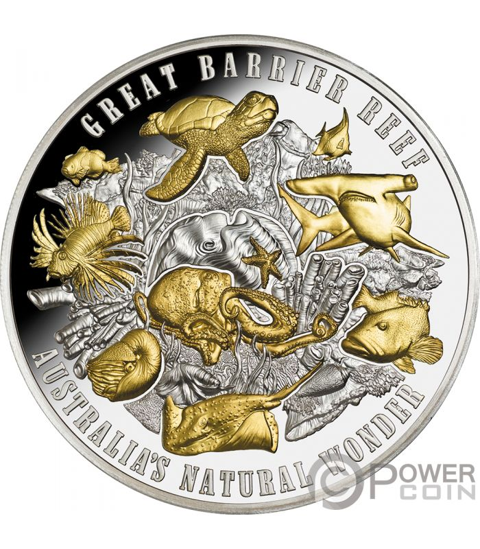 Great Barrier Reef Australias Natural Wonder 5 Oz Silver