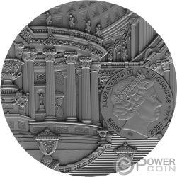 RENAISSANCE Amber Art 2 Oz Silver Coin 5$ Niue 2017