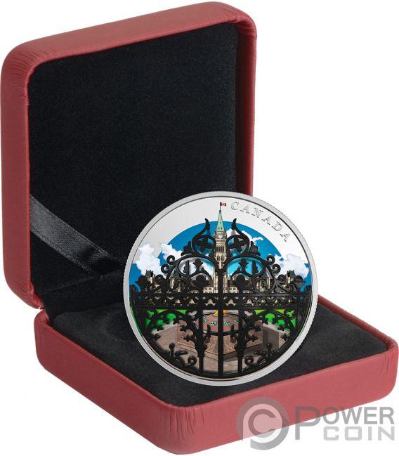 Queens Gate Gardens 2 Oz Silver Coin 30 Canada 2018