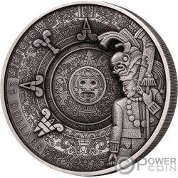 MAYA HERITAGE Multiple Layer 1 Kg Kilo Silver Coin 25$ Samoa 2018