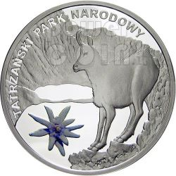 TATRA NATIONAL PARK Biosphere Reserves Silver Coin Malawi 2010