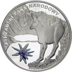 TATRA NATIONAL PARK Biosphere Reserves Silver Coin Malawi 2010