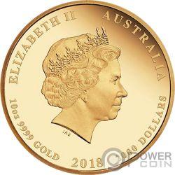 JEWELLED PHOENIX Fenice Gioiello Argyle Pink Diamanti 10 Oz Moneta Oro 2000$ Australia 2018