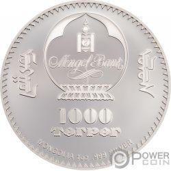 CHE GUEVARA Ernesto Serna Cuba Argentina 1 Oz Серебро Монета 1000 Тугриков Монголия 2018