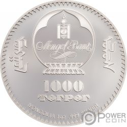 CHE GUEVARA Ernesto Serna Cuba Argentina 1 Oz Silber Münze 1000 Togrog Mongolia 2018