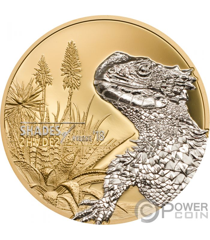 lizard shades of nature silver coin 5 cook islands 2018 power coin. Black Bedroom Furniture Sets. Home Design Ideas