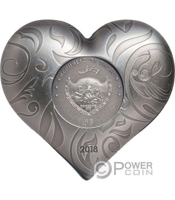 mechanical heart coin