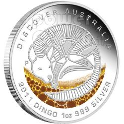 DISCOVER AUSTRALIA Dreaming Set 5 Monete Argento 1$ 2011