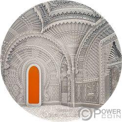 TIFFANY ART ORIENTALISM Castello di Sammezzano 2 Oz Moneta Argento 10$ Palau 2018