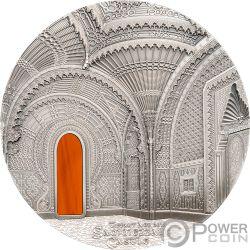TIFFANY ART ORIENTALISM Castle of Sammezzano 1 Kg Kilo Silver Coin 50$ Palau 2018