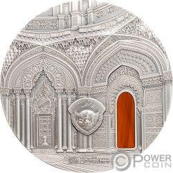 TIFFANY ART ORIENTALISM Castillo de Sammezzano 1 Kg Kilo Moneda Plata 50$ Palau 2018