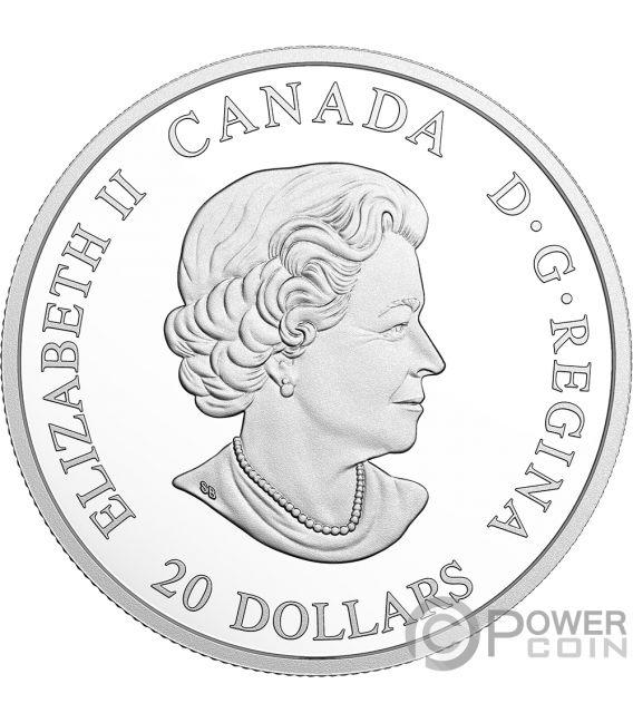 DRAGON SAIL Norse Figureheads 1 Oz Silver Coin 20$ Canada 2018