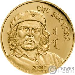 CHE GUEVARA Ernesto Serna Cuba Argentina Gold Coin 1000 Togrog Mongolia 2018