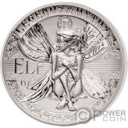 ELF Second Legends And Myths 2 Oz Silber Münze 5$ Solomon Islands 2018