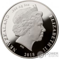 TEV WAHINE 50th Anniversary 2 Oz Silber Münze 1$ New Zealand 2018
