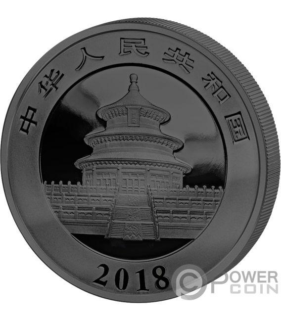 PANDA Golden Enigma Silver Coin 10 Yuan China 2018