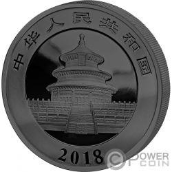 PANDA Golden Enigma Серебро Монета 10 Юаней Китай 2018