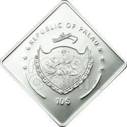 VITTORIO VENETO Regia Nave Ship 2 Oz Серебро Монета 10$ Палау 2011