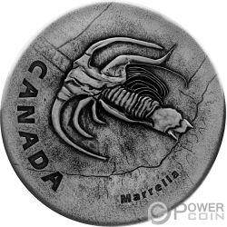 MARRELLA Ancient 1 Oz Moneda Plata 20$ Canada 2018