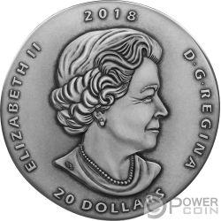 MARRELLA Ancient 1 Oz Серебро Монета 20$ Канада 2018