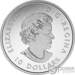 VOYAGER Star Trek Next Generation Серебро Монета 10$ Канада 2018