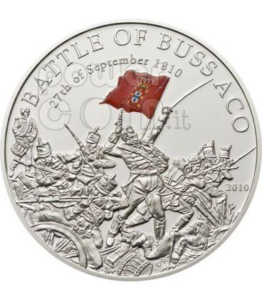BATTLE OF BUSSACO 200th Anniversary Silver Coin 5$ Palau 2010
