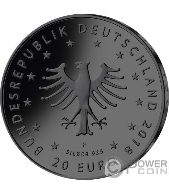 FROG KING König Frosch Golden Enigma Silber Münze 20€ Euro Germany 2018