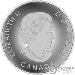 CANADIAN BASEBALL Kanadischer 180. Jahrestag Convex Silber Münze 25$ Canada 2018