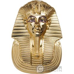 TUTANKHAMUN Tutankhamon Forma 3 Oz Moneta Argento 20$ Palau 2018