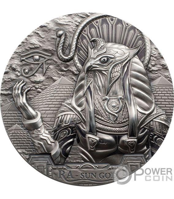 Ra Sun God Egyptian Eagle Head Gods Of The World 3 Oz